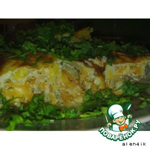 Рецепт Рыбный торт