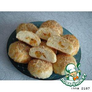 Рецепт Турецкие булочки с апельсиновыми цукатами