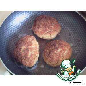 Рецепт Куриные котлетки с тмином