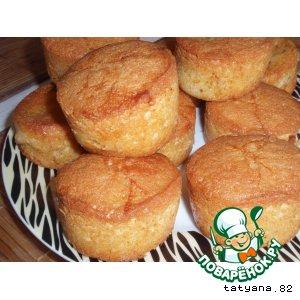 Рецепт Сдобные кексы с абрикосами