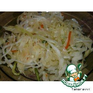 Салат с рисовой лапшой (2 вариант) вкусный рецепт приготовления с фотографиями пошагово готовим