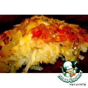 Рецепт Картофельный тарт с овощами