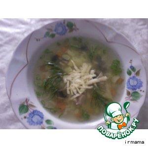 Рецепт Летний супчик