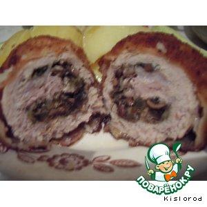 Рецепт Отбивные из свинины с начинкой