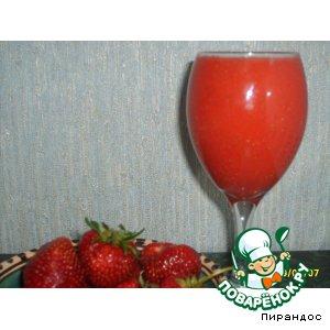 Клубничный сок