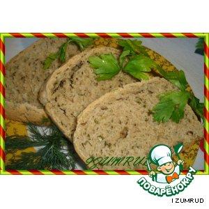 Рецепт Ржаной хлеб с тмином и луком