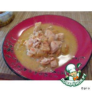 Рецепт Абрикосовая курица