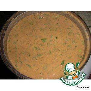 Рецепт Томатный суп-пюре с чечевицей
