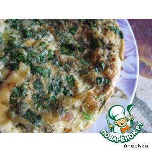 Рецепт Омлет сливочный с креветками