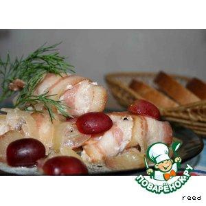 Рецепт Куриные грудки под соусом
