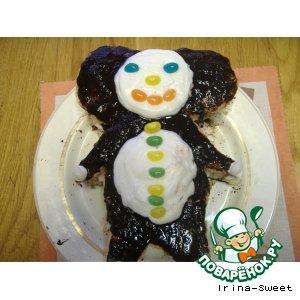 торт чебурашка пошаговый фото рецепт