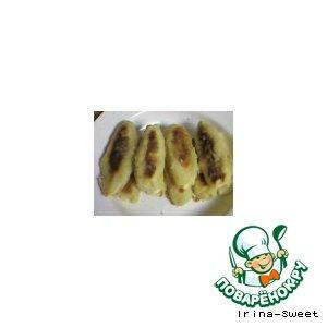 Рецепт Картофельные палочки  с сыром и икрой