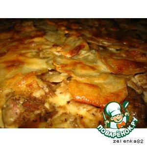 Рецепт Вкусняшка из картошки