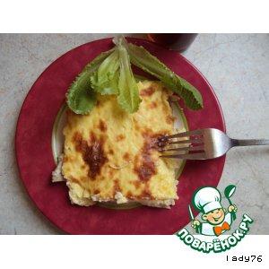 Рецепт Рисовый пудинг с курицей