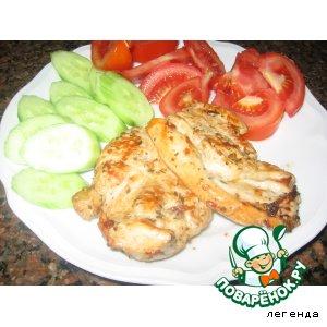 Рецепт Куриная грудка или отбивные в маринаде. Из Израиля с любовью