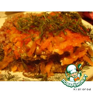 Рецепт Печеночные котлеты с овощами
