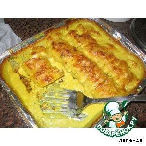 Рецепт Запеченная картошечка в обалденом соусе