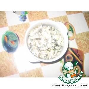 Как готовить Салат с морской капустой рецепт приготовления с фотографиями пошагово