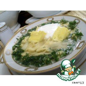 Рецепт Кисломолочный суп