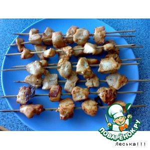 Рецепт Шашлычки из духовки