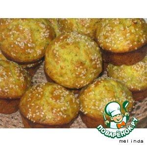 Как приготовить Творожные маффины с зеленью вкусный пошаговый рецепт с фото