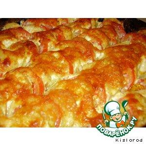 Рецепт Овощная запеканка под сырной корочкой