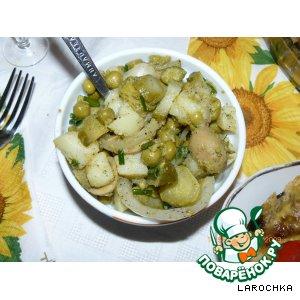 Рецепт Закусочный салатик