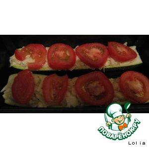 Как приготовить домашний рецепт с фото Цуккини с сыром
