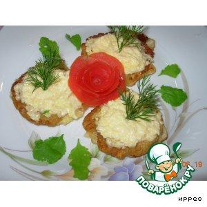 Рецепт Кабачки в кляре и с сыром