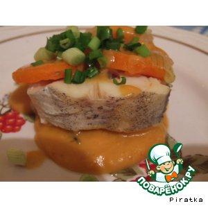 Отварной минтай  рецепт  Отварная рыба  Новогодние