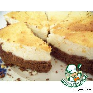 Рецепт Шоколадно-творожный пирог