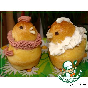 Рецепт Бриоши - цыплята