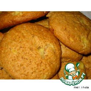 Рецепт Печенье с ананасом и орехами