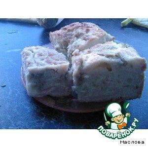 Латвийский пирог с ревенем