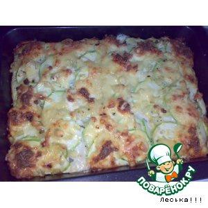 Рецепт Запеканка из картошки и кабачков