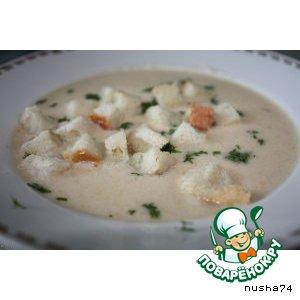 Рецепт Куриный суп-пюре с овощами