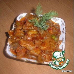 Рецепт Острое мясо