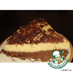 Рецепт Шоколадно-сливочный десерт