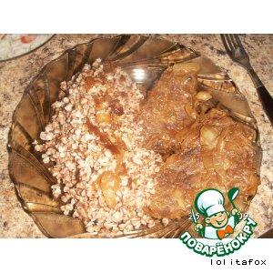 Рецепт Варено–тушеная телятина