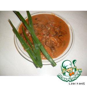 Рецепт Якитори (из куриных потрошков)