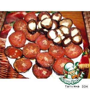 Рецепт Баклажанные  бутербродики