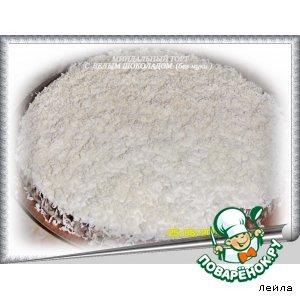 Рецепт Миндальный  торт  с белым шоколадом, без муки
