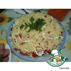 Готовим домашний рецепт приготовления с фото Салат