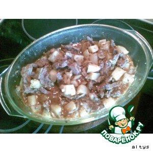 Рецепт Азу из телятины
