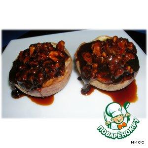 Рецепт Персики-гриль с козинаками