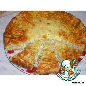 Рецепт Пирог с капустной начинкой