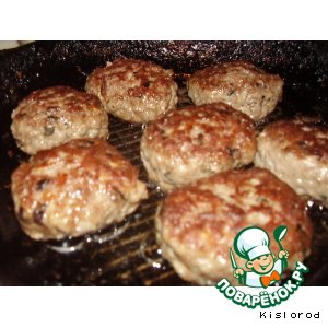 Рецепт Котлеты из говядины с базиликом