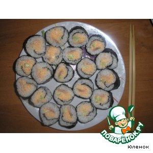 Рецепт Суши-роллы домашние