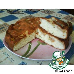 Как готовить Мамина шарлотка с яблоками простой рецепт приготовления с фотографиями