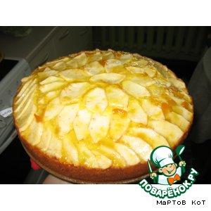 Яблочный пирог вкусный рецепт с фото пошагово